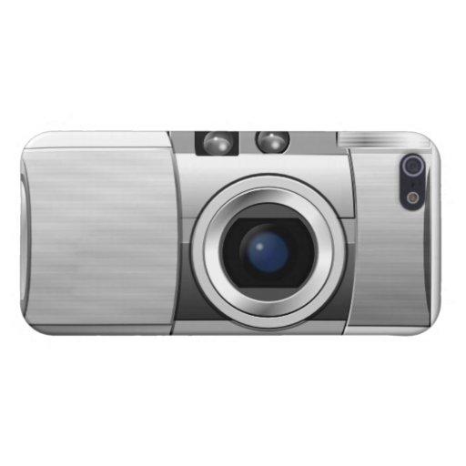Teléfono de la cámara iPhone 5 cárcasas