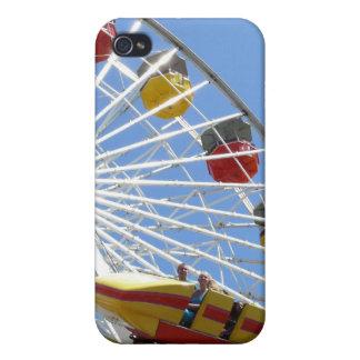 Teléfono de la noria de la montaña rusa iPhone 4 protectores