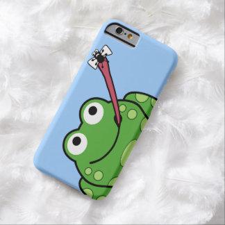 Teléfono de la rana y de la mosca funda de iPhone 6 barely there