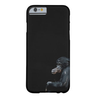 Teléfono de los chimpancés funda de iPhone 6 barely there
