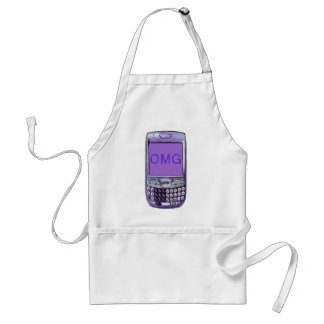 Teléfono de OMG Delantal