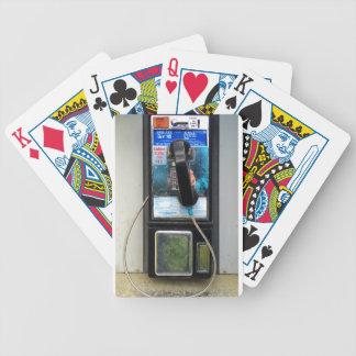 Teléfono de pago baraja de cartas