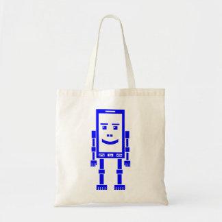 Teléfono de Robo - azul Bolsas De Mano