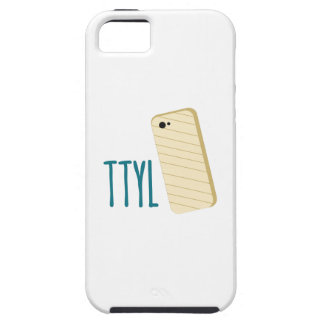 Teléfono de TTYL iPhone 5 Case-Mate Fundas
