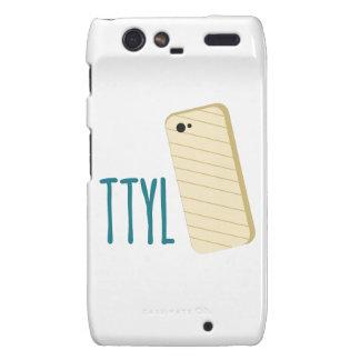 Teléfono de TTYL Motorola Droid RAZR Carcasas