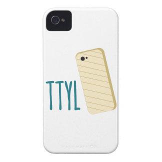 Teléfono de TTYL iPhone 4 Case-Mate Cárcasas