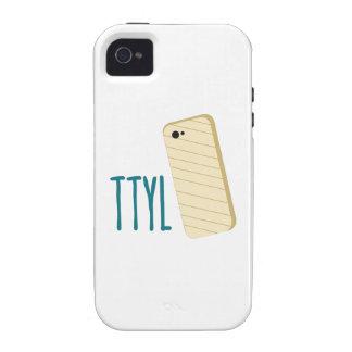 Teléfono de TTYL Vibe iPhone 4 Fundas