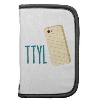 Teléfono de TTYL Organizadores