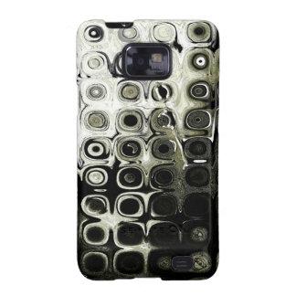 Teléfono del bloque de cristal galaxy SII fundas