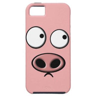 Teléfono del cerdo iPhone 5 Case-Mate cobertura