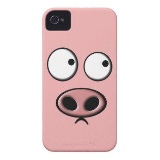 Teléfono del cerdo iPhone 4 Case-Mate protector