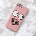 Teléfono del cerdo funda de iPhone 6 barely there