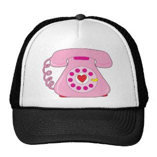 Teléfono del corazón gorro