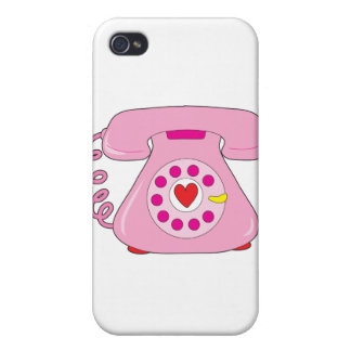 Teléfono del corazón iPhone 4 carcasa