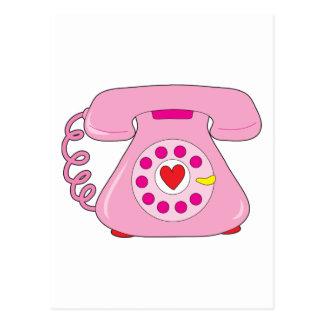 Teléfono del corazón postal