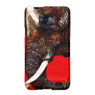 Teléfono del elefante galaxy SII carcasas