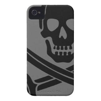 Teléfono del pirata iPhone 4 Case-Mate carcasa