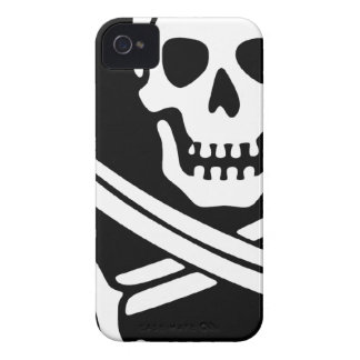 Teléfono del pirata iPhone 4 fundas