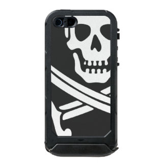 Teléfono del pirata carcasa de iphone 5 incipio atlas id