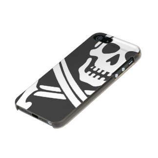 Teléfono del pirata funda para iPhone 5 incipio feather shine