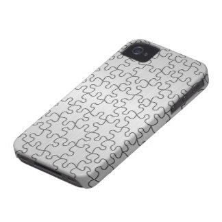 Teléfono del rompecabezas iPhone 4 carcasa