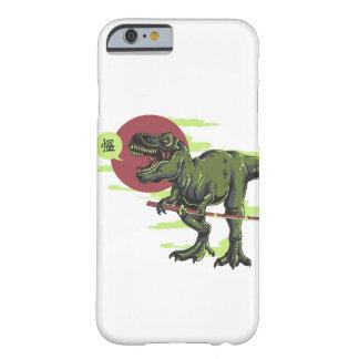 Teléfono del samurai de T-Rex Funda De iPhone 6 Barely There
