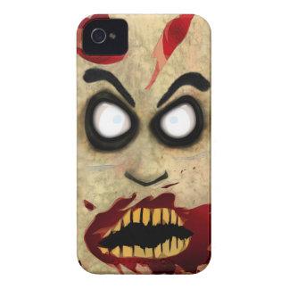 Teléfono del zombi Case-Mate iPhone 4 funda
