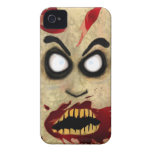 Teléfono del zombi iPhone 4 carcasas