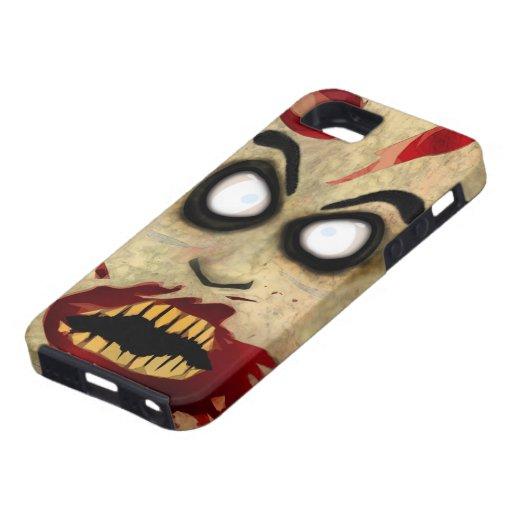 Teléfono del zombi iPhone 5 Case-Mate cárcasa