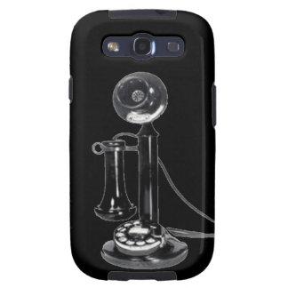 Teléfono derecho viejo retro galaxy s3 cobertura