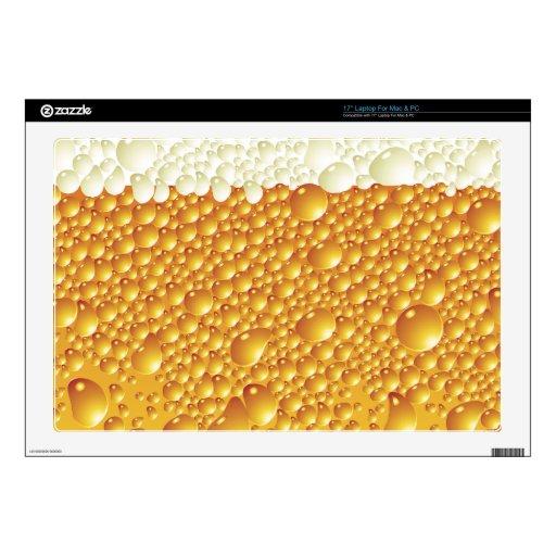 Teléfono divertido de la cerveza skins para portátil