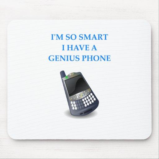 teléfono elegante alfombrilla de ratón