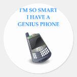 teléfono elegante pegatinas