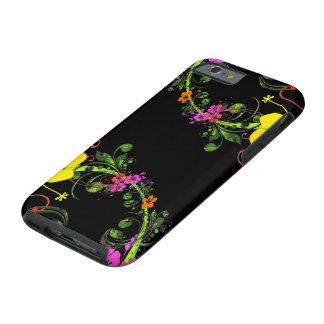 Teléfono floral - caja dura del teléfono funda resistente iPhone 6