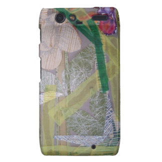 Teléfono Motorola Droid RAZR del caso con collage Droid RAZR Fundas