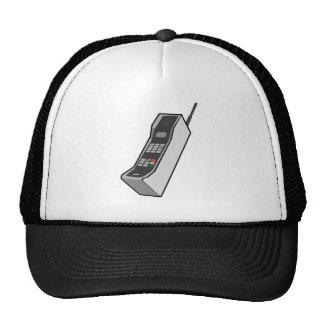 teléfono móvil de los años 80 gorras de camionero