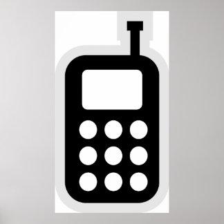 Teléfono móvil posters