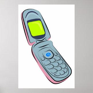 Teléfono móvil impresiones