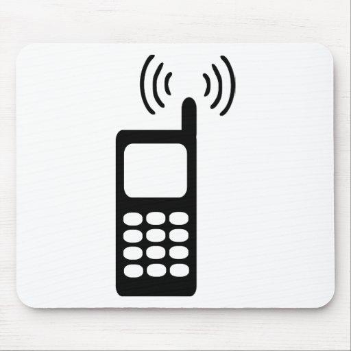 Teléfono móvil tapete de ratones