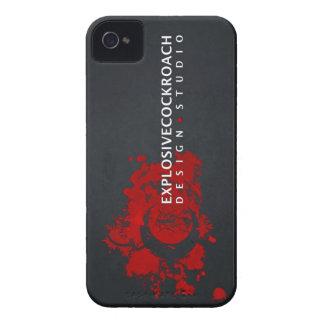 Teléfono oficial del logotipo de ECDS iPhone 4 Case-Mate Cobertura