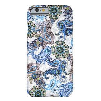 teléfono Paisley-Blackberry-Samsungcase funda-azul