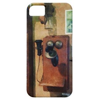Teléfono pasado de moda funda para iPhone SE/5/5s