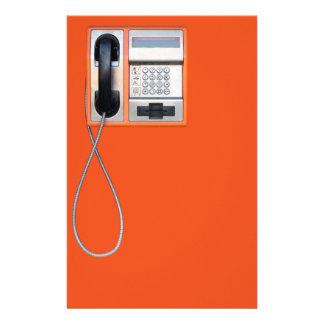"Teléfono público folleto 5.5"" x 8.5"""