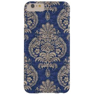 Teléfono real 6 del diseño I del papel azul más Funda De iPhone 6 Plus Barely There