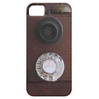 Teléfono retro iPhone 5 Case-Mate cárcasas