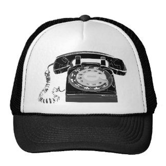 Teléfono retro gorras de camionero
