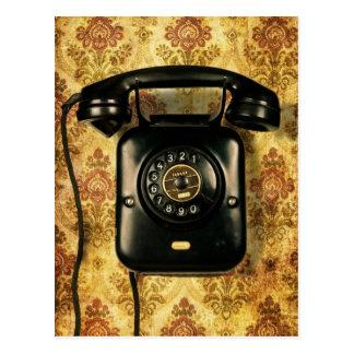 Teléfono retro postal