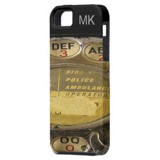 Teléfono rotatorio - caso iPhone5 - SRF iPhone 5 Case-Mate Protectores