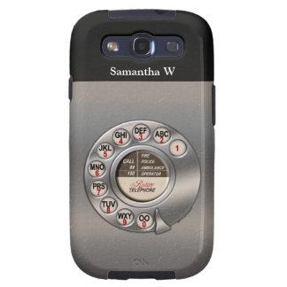 Teléfono rotatorio del vintage samsung galaxy s3 carcasa