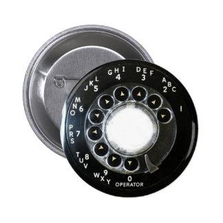 Teléfono rotatorio pins